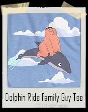 Dolphin Ride Family Guy T-Shirt