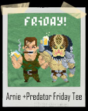 Arnie And Predator Friday T-Shirt