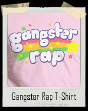 Pink Gangster Rap T-Shirt