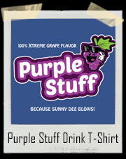 Purple Stuff Drink T-Shirt