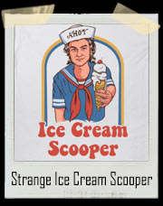 Very Strange Ice Cream Scooper T-Shirt