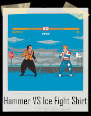 Hammer VS Ice Fight T-Shirt