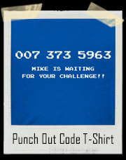 Punch Out Code - 007 373 5963 T-Shirt