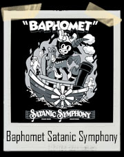 Vintage Cartoon Baphomet - Steamboat Baphy - Occult - Satanic Symphony T-Shirt