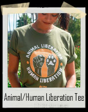 Peta Animal/Human Liberation T-Shirt