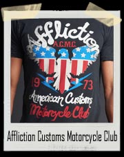 Affliction A.C.M.C American Customs Motorcycle Club Shirt