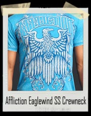 Affliction Eaglewind SS Crewneck T Shirt