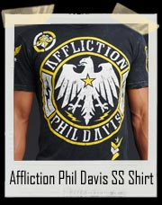 "Affliction Phil Davis ""Mr. Wonderful"" SS Shirt"