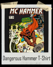 Dangerous Hammer Comic Book T-Shirt