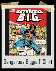 Dangerous Biggie Comic Book T-Shirt