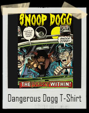 Dangerous Dogg Comic Book T-Shirt