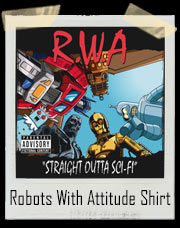RWA - Robots With Attitude T-Shirt