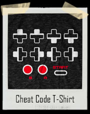 Cheat Code Up Up Down Down Left Right Left Right B A Start T-Shirt