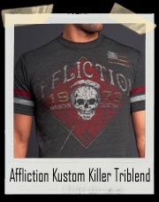 Affliction Kustom Killer Triblend SS Shirt