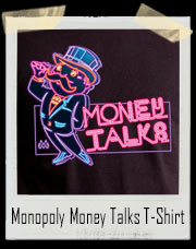 Monopoly Neon Money Talks T-Shirt