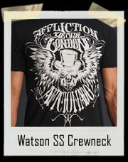 Affliction Watson SS Crewneck T Shirt