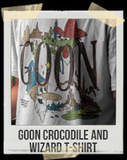 Goon Crocodile and Wizard T-Shirt