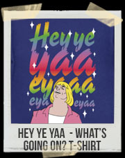 Hey ye yaa eyaaa - What's Going On? T-Shirt