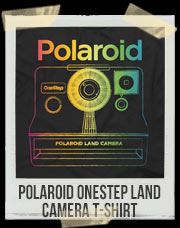 Polaroid OneStep Land Camera T-Shirt