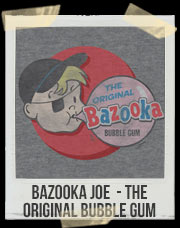 Bazooka Joe - The Original Bubble Gum T-Shirt