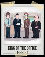 King of The Office T-Shirt