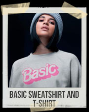 Basic Sweatshirt And T-Shirt