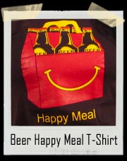Beer Happy Meal T-Shirt