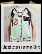 Ghostbusters Venkman Costume Shirt