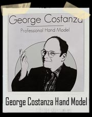 George Costanza Professional Hand Model Seinfeld T Shirt