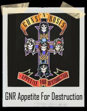 Guns 'N' Roses Appetite For Destruction Shirt