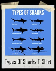 Types Of Sharks - Loan Shark Pool Shark T-Shirt