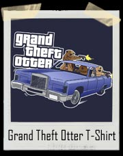 Funny Grand Theft Otter T Shirt
