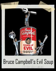 Evil Dead Bruce Campbell's Cream Of Evil Soup T-Shirt