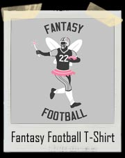 Fantasy Football Fairy Princess T Shirt
