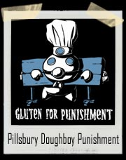 Pillsbury Doughboy Gluten For Punishment T-Shirt