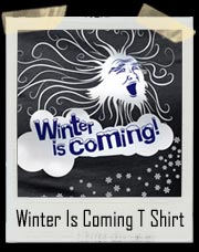 Winter Is Coming Adult T Shirt