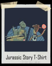 Jurassic Story! Awesome Toy Story and Jurassic Park Mash Up