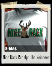 Nice Rack Rudolph The Red Nosed Reindeer T-Shirt