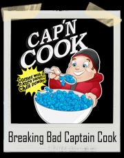 Breaking Bad Jesse Pinkman Captain Cook Cereal T-Shirt