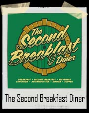 The Second Breakfast Diner For Hobbits T-Shirt