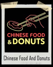 Chinese Food And Donuts T-Shirt