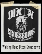 Walking Dead Daryl Dixon Crossbows T-Shirt