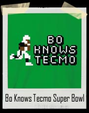 Bo Knows Tecmo Super Bowl T-Shirt