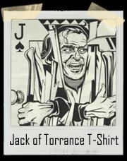 The Shining Jack of Torrance Playing Card T-Shirt