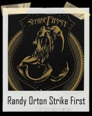 Randy Orton Strike First Men's Authentic T-Shirt