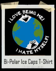 Bi-Polar Ice Caps T-Shirt