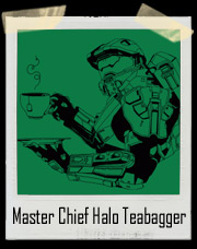 Master Chief Halo Teabagger Teabagging T-Shirt