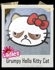 Hello Grumpy! Grumpy Hello Kitty T-Shirt