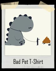 Bad Pet Dinosaur T-Shirt