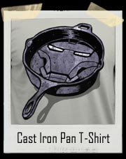 Cast Iron Pan Iron Man T-Shirt